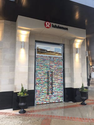 Lululemon Athletica will open as the first tenant of Falls Park Place on Friday, Feb. 3, 2017.