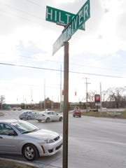 Numerous accidents occur at Hilton and Grand River