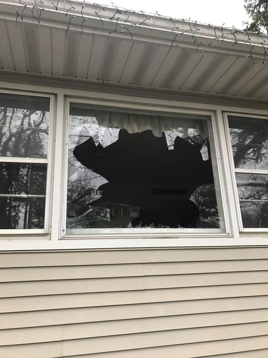 Boonton broken window
