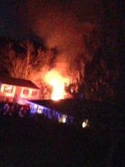 Crews responded to a York Township fire Sunday night.