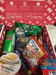 Munchpak delivers a variety of international snacks each month.