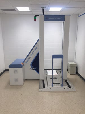 The Richland County Jail recently started using a body scanner to detect drugs and contraband.