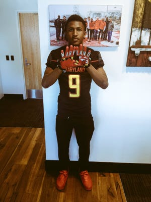 Rayshad Lewis posted a picture on Twitter confirming he is transferring to the University of Maryland.