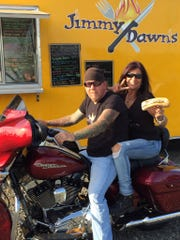 Jimmy and Dawn share a love for riding, business and food!