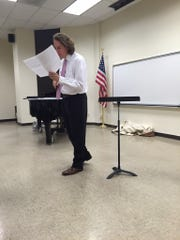 Ian Aipperspach has been director of the chorale for nearly two years.