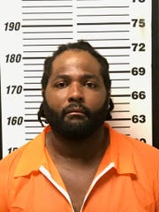 Copiah County booking photo of Corey Godbolt. Goldbolt