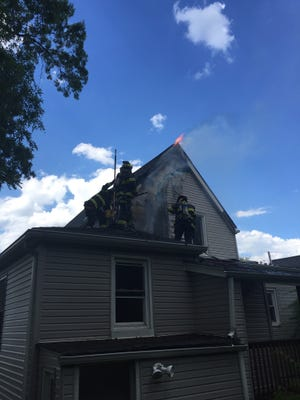 A fire is being investigated that occurred on Schley Street on June 27.
