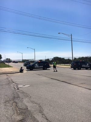 A St. Charles, Michigan, man died in a motorcycle crash on Martin Luther King Jr. Boulevard in Lansing on Monday.
