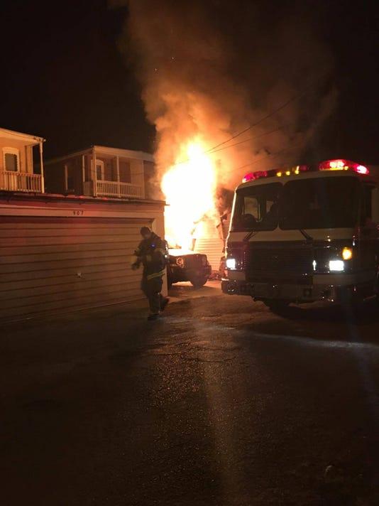 Garage fire 8/20