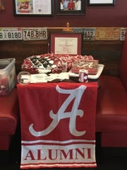 The Alabama alumni club in Tallahassee held its preseason