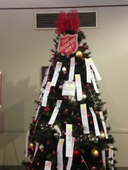 FILE PHOTO: A Salvation Army Angel Tree