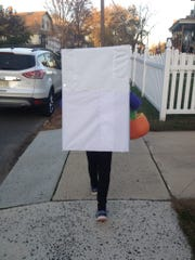 Keep in mind that any box-based costume is going to be bulky for trick-or-treating.