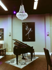A baby grand piano is consistent with the theme of The Grand Martini and will be a focal point for live entertainment.