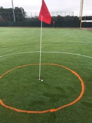 The Par 3 at Perdue Stadium consisted of seven greens