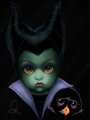"""Maleficent, from Disney's """"Sleeping Beauty,"""" was the"""