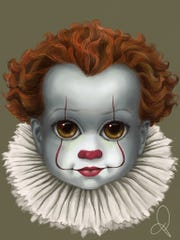 """Pennywise from recent """"IT"""" movie"""
