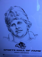 Kenny Davidson was inducted into the ACU Sports Hall of Fame over the weekend.