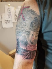 Matthew Blazi, from Hershey, Pennsylvania, is a big