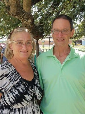 Debbie and Keith Braden.