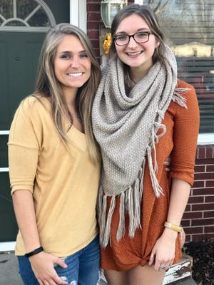 Mallory Jackson, 27, (left) and Meredith Opel, 20. The sisters were found slain in their south-side house on Nov. 24.