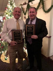 Stan Niemczyk, left, and Neil Snyder, Marco Island Volunteer and Citizen of the Year. Submitted photo by Al Diaz