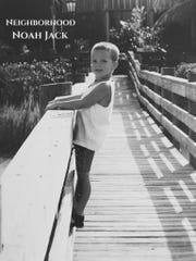The cover of Noah Jack Cummins' recent single features a photo of Cummins, age 3, in Florida.