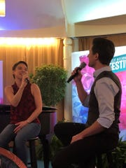 Broadway stars like Jenn Gambatese and Kevin Massey perform weekends for the Disney on Broadway series.