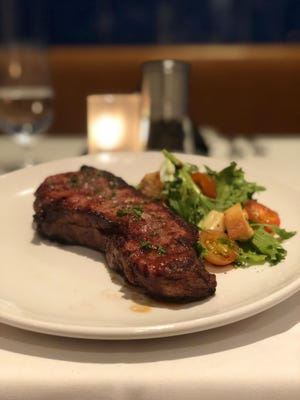 One of the many popular steaks headlining the menu at the new Ursino Steakhouse & Tavern in Union.