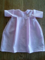 Aunt Elizabeth quickly sewed this dress for Susan and