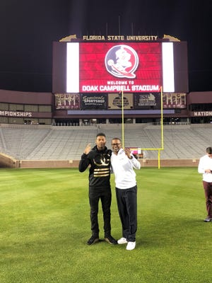Four-star QB James Foster on his official visit to FSU