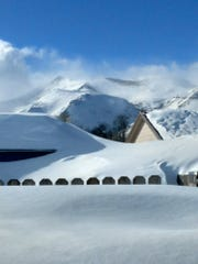 East Glacier has received 241 inches of snow this winter