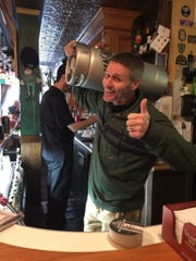 Chris Flynn, owner of Hailey's Harp & Pub in Metuchen.