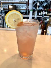 The back porch lemonade ($7.50) at The Local in North Naples is a concoction of vodka-like wine, cranberry juice, lemon juice, ginger ale and ginger bitters.