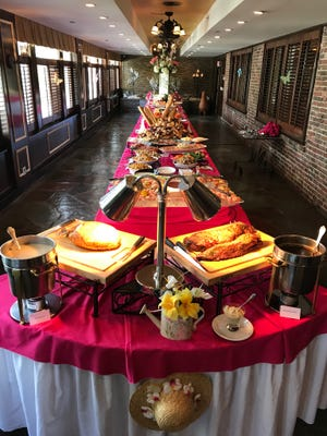 A bountiful buffet awaits Mother's Day guests at the beautiful Grand Summit Hotel in Summit.