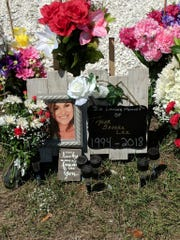 A memorial Taylor Brooke Lee has been set up in the