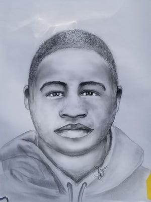 A composite sketch of a suspect in connection to an armed robbery that was reported April 19 in Oak Creek.