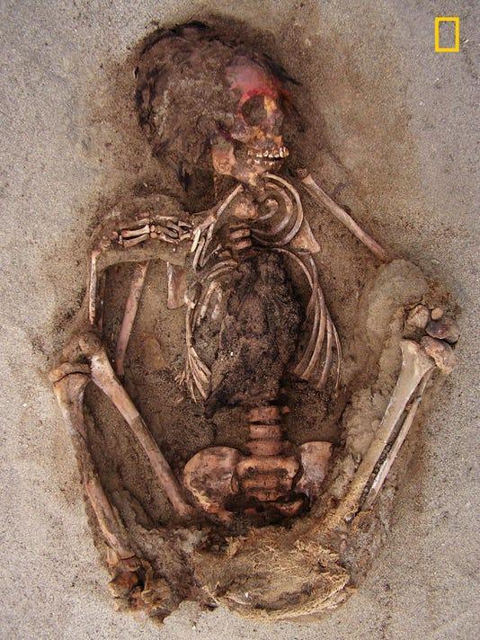 Peru Sacrificial Site