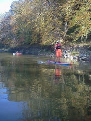 Middle River near Winterset is a great river to paddle that is close to Des Moines.