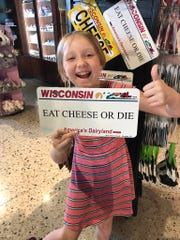 There are plenty of fun cheesy Wisconsin souvenirs.