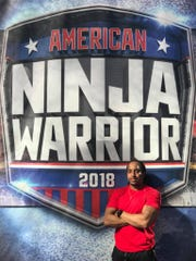 Battle Creek's Mario Brown competed in the American Ninja Warrior city finals in Indianapolis in April.