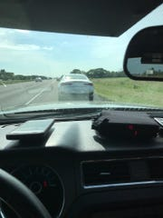 Indiana State Police on Monday busted a driver who was blasting through a construction zone near Fishers at120 mph.