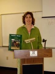 Tewksbury author Loren Spiotta-DiMare.