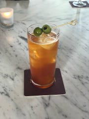 SheWolf's Giuseppe of the Lakes cocktail has Amaro