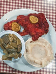 Jackie's Dream, 2223 McCalla Ave., is a diner that offers customized meat and vegetable meals such as Jackie's popular hot chicken, with mashed potatoes and green beans