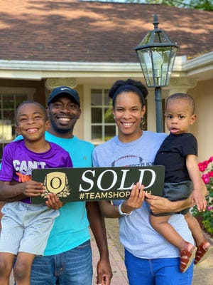 The Sims family of Fort Smith (Charles, son Ayden, Brittney and son Carter) are among some of the many local residents who have been able to purchase a home during the coronavirus pandemic.