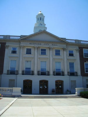 What types of banners should hang on Medford City Hall? With no policty in place, city officials are looking at creating a proposal for one.
