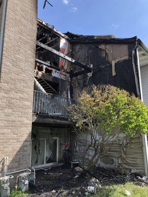 Nobody was injured in a fire at Bay Pointe Apartments Monday, June 1.