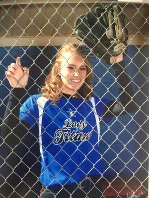McDowell softball player Karly McRary