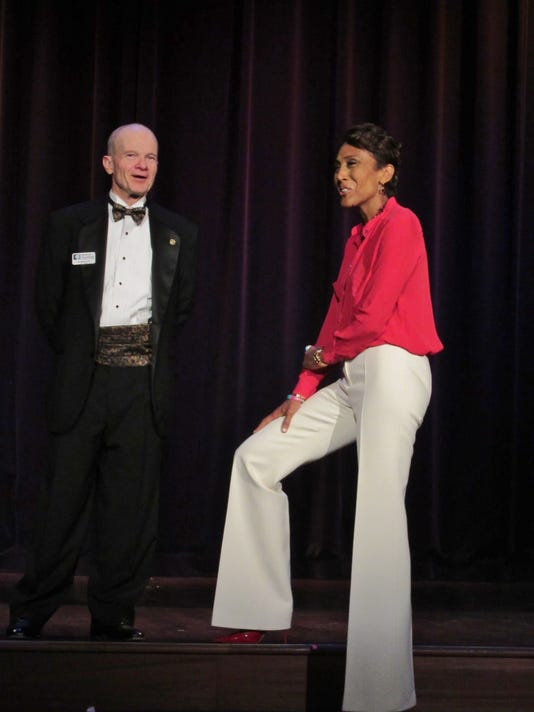 Out and About: An Evening with Robin Roberts