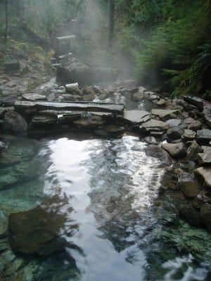 Cougar Hot Springs McKenzie River Recreational Area